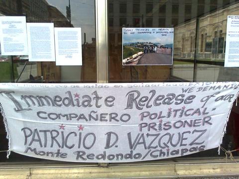Día de Acción Global por la Liberación del Preso Politíco Zapatista