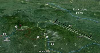 mapa tila megraproy