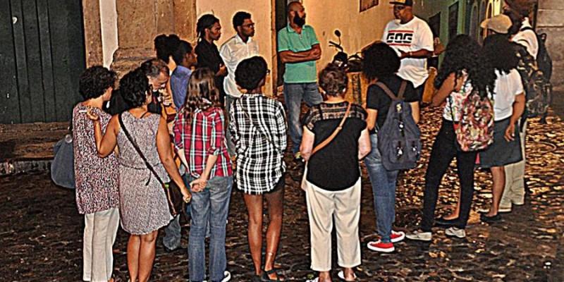 Sarau Bem Black 20 de Julho - Abertura na Encruzilhada 2