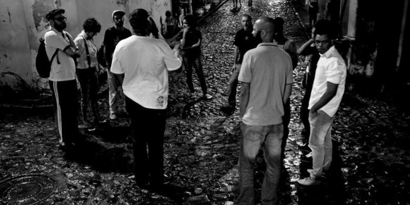Sarau Bem Black 20 de Julho - Abertura na Encruzilhada