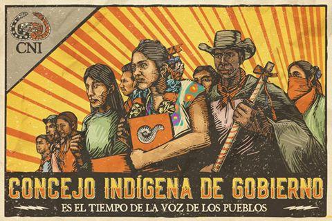 El Congreso Nacional Indígena acusa pretensión de desmantelar poblados