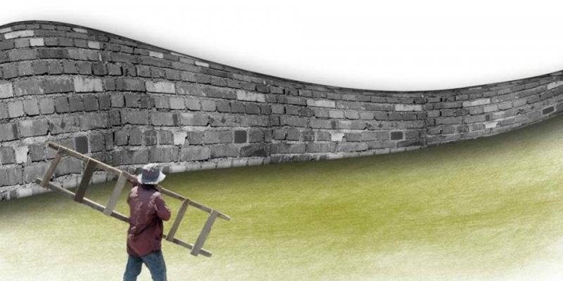 cruzar el muro