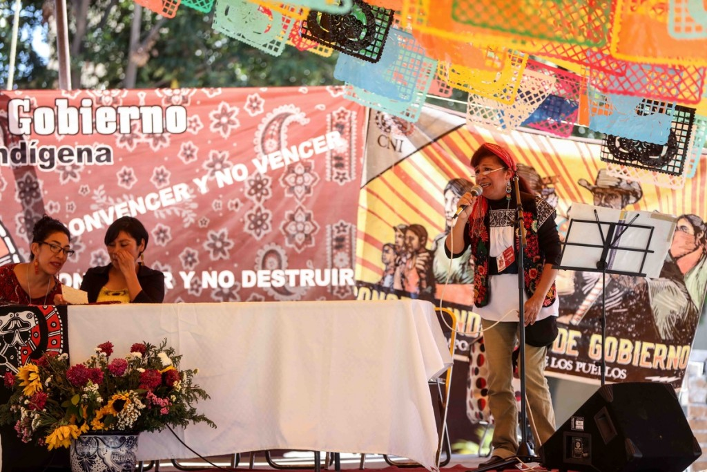 Bertha Melendez cantora en lenguas_ Marichuy Cuanala_Daliri Oropeza
