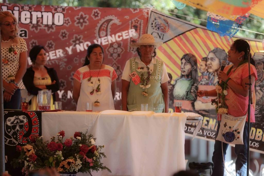Marichuy da mensaje Cuanala_Daliri Oropeza