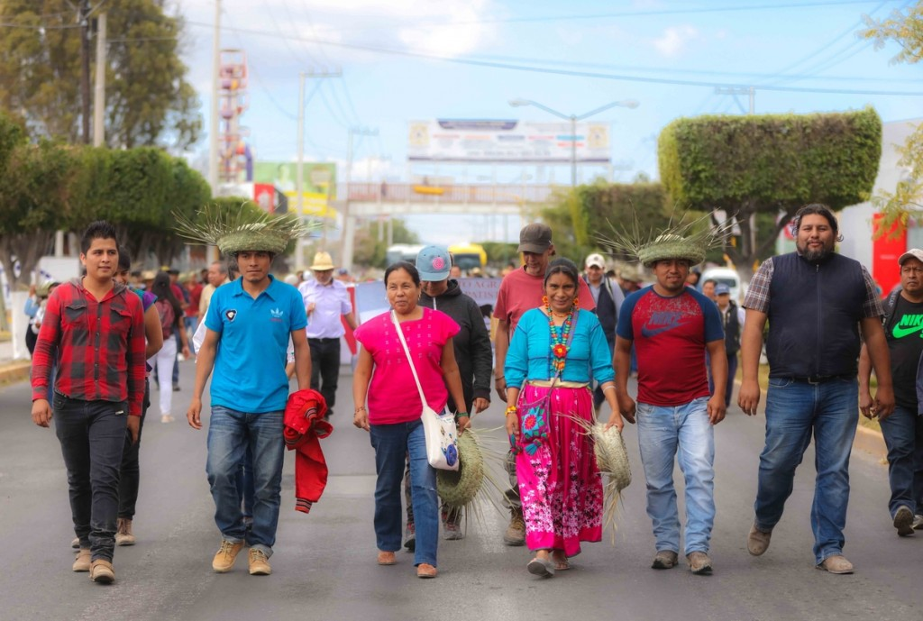 Marichuy marcha Tehuacán_ Daliri Oropeza