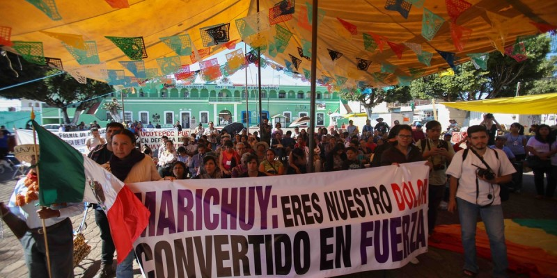 Mujeres deministas apoyan a Marichuy Cuanala_Daliri Oropeza